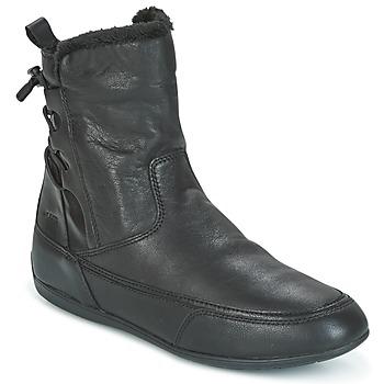 Topánky Ženy Polokozačky Geox D NEW MOENA čierna