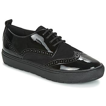 Topánky Ženy Derbie Geox D BREEDA čierna