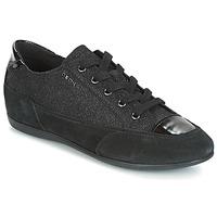 Topánky Ženy Nízke tenisky Geox D NEW MOENA čierna