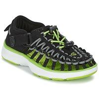 Topánky Deti Športové sandále Keen UNEEK O2 Čierna