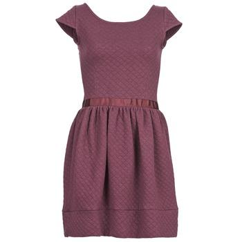 Oblečenie Ženy Krátke šaty Naf Naf OHORTENSE Fialová