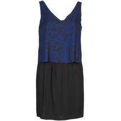 Oblečenie Ženy Krátke šaty Naf Naf LORRICE Čierna / Modrá