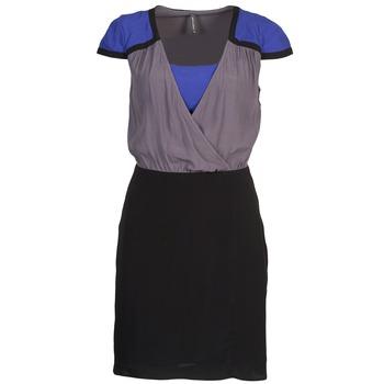 Oblečenie Ženy Krátke šaty Naf Naf LYFAN Čierna / Šedá / Modrá