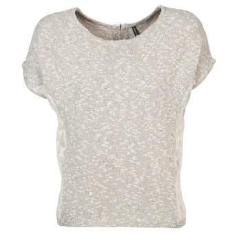 Oblečenie Ženy Tričká s krátkym rukávom Naf Naf MILLON Šedá