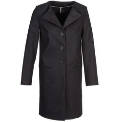 Oblečenie Ženy Kabáty Naf Naf APATI Čierna