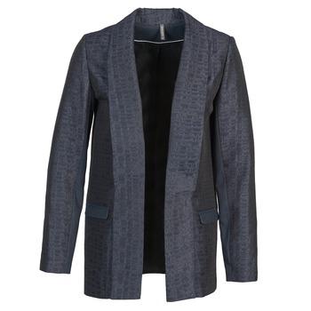 Oblečenie Ženy Saká a blejzre Naf Naf ELYO Námornícka modrá