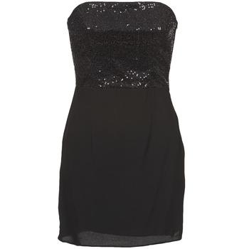 Oblečenie Ženy Krátke šaty Naf Naf LYCHA Čierna