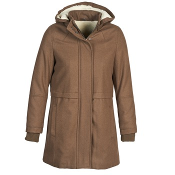 Oblečenie Ženy Kabáty Naf Naf ABHEIGE Hnedá