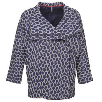 Oblečenie Ženy Kabáty Naf Naf ADARMELA Námornícka modrá