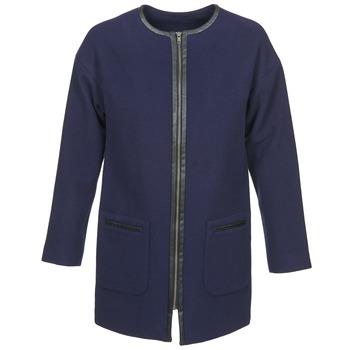 Oblečenie Ženy Kabáty Naf Naf ALYSON Námornícka modrá