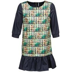 Oblečenie Ženy Krátke šaty Naf Naf ECAPS Čierna / Viacfarebná