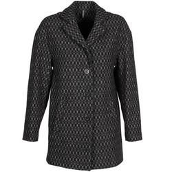 Oblečenie Ženy Kabáty Naf Naf AKLAPA Čierna