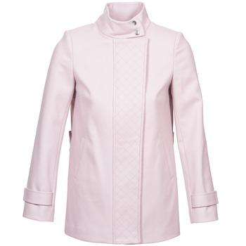 Oblečenie Ženy Kabáty Naf Naf ACORA Ružová