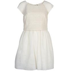 Oblečenie Ženy Krátke šaty Naf Naf LYMELL Biela