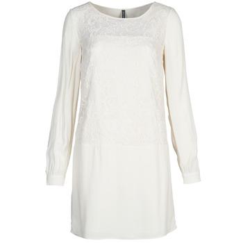 Oblečenie Ženy Krátke šaty Naf Naf LYNO Krémová