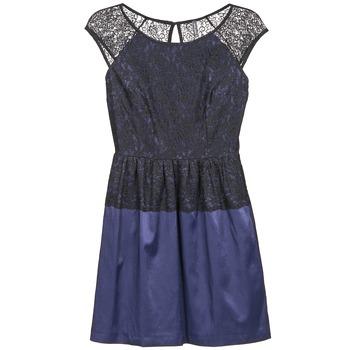 Oblečenie Ženy Krátke šaty Naf Naf LYLITA Čierna / Námornícka modrá