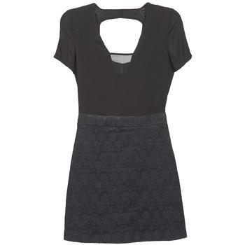 Oblečenie Ženy Krátke šaty Naf Naf EKLATI čierna