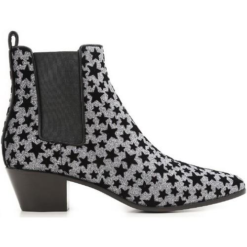 Topánky Ženy Čižmičky Saint Laurent 443095 GRQ00 8135 Antracite