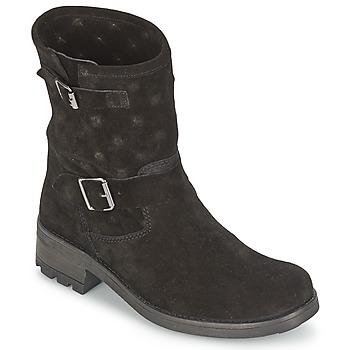 Topánky Ženy Polokozačky Naf Naf XHNX70A18 Čierna
