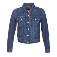 Oblečenie Ženy Džínsové bundy Levi's ORIGINAL TRUCKER Modrá / Jean