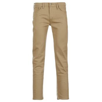 Oblečenie Muži Džínsy Slim Levi's 511 SLIM FIT Béžová
