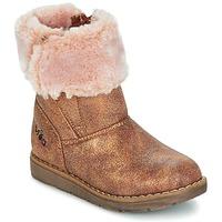Topánky Dievčatá Polokozačky Mod'8 ALTECIA Zlatá