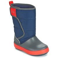 Topánky Deti Snehule  Crocs LODGEPOINT SNOW BOOT K Námornícka modrá