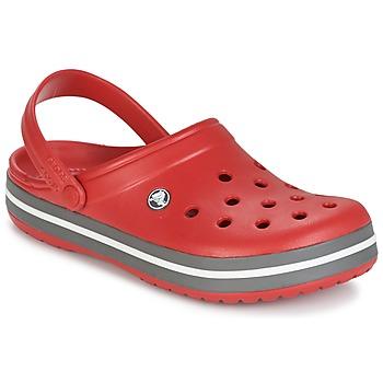 Topánky Nazuvky Crocs CROCBAND Červená