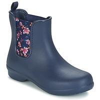 Topánky Ženy Polokozačky Crocs CROCS FREESAIL CHELSEA Námornícka modrá
