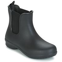 Topánky Ženy Polokozačky Crocs CROCS FREESAIL CHELSEA Čierna