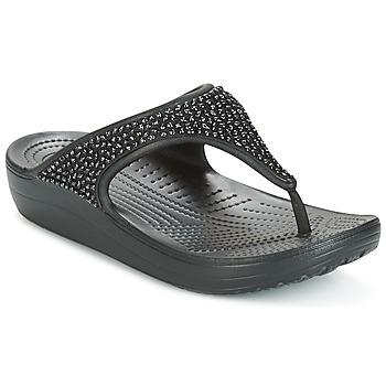 Topánky Ženy Sandále Crocs SLOANE Čierna