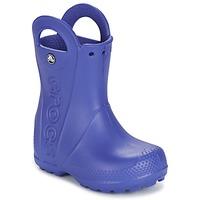Topánky Deti Čižmy do dažďa Crocs HANDLE IT RAIN BOOT Modrá