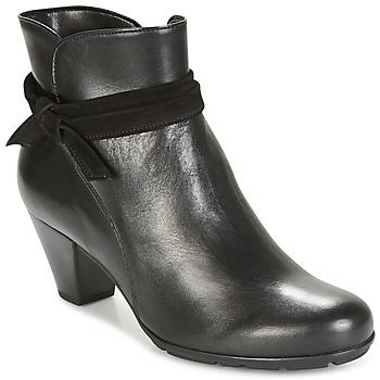 Topánky Ženy Čižmičky Gabor KAPITI čierna