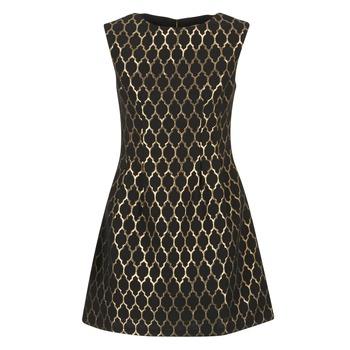 Oblečenie Ženy Krátke šaty Molly Bracken DIRCO Čierna / Zlatá