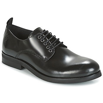 Topánky Muži Derbie Kost ORNE Čierna
