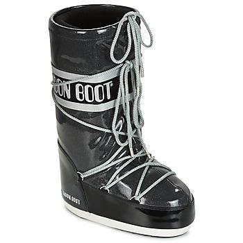 Topánky Ženy Obuv do snehu Moon Boot MOON BOOT STARRY Čierna / Biela