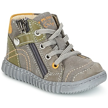 Topánky Chlapci Polokozačky Primigi PSM 8028 šedá