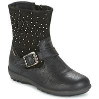 Topánky Dievčatá Čižmy do mesta Primigi PCIGT 8569 Čierna
