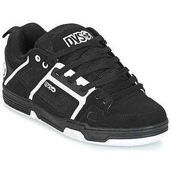 Topánky Nízke tenisky DVS COMANCHE Čierna / Biela