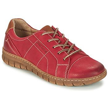Topánky Ženy Derbie Josef Seibel STEFFI 41 červená