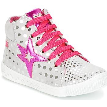 Topánky Dievčatá Členkové tenisky Agatha Ruiz de la Prada FLOW Strieborná