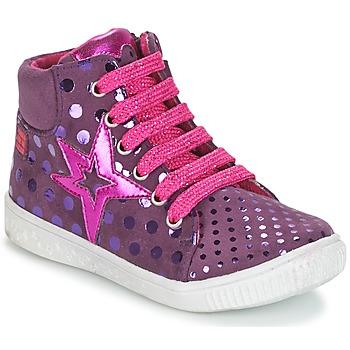 Topánky Dievčatá Členkové tenisky Agatha Ruiz de la Prada FLOW Fialová