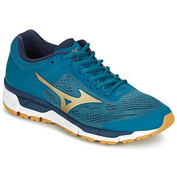 Topánky Muži Bežecká a trailová obuv Mizuno MIZUNO SYNCHRO MX 3 Modrá