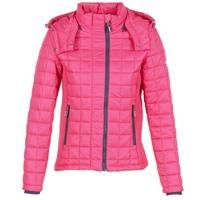 Oblečenie Ženy Vyteplené bundy Superdry FUJI BOX QUILTED Ružová