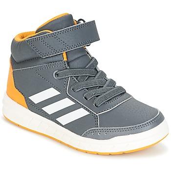 Topánky Chlapci Členkové tenisky adidas Performance ALTASPORT MID EL K šedá