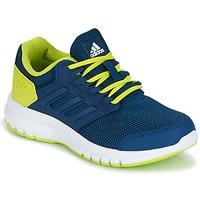 Topánky Chlapci Bežecká a trailová obuv adidas Performance GALAXY 4 K Modrá