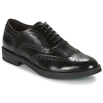 Topánky Muži Derbie Stonefly CLASS II 2 BRUSH OFF Čierna