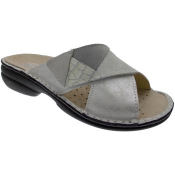 Topánky Ženy Šľapky Calzaturificio Loren LOM2657bi bianco