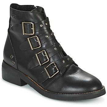 Topánky Ženy Polokozačky Coolway DENZEL čierna