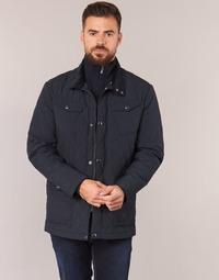 Oblečenie Muži Bundy  Gant THE CENTRAL POND QUILTER Čierna